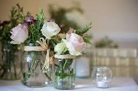 wedding flowers jam jars erina and dominic s summer fete wedding by taran s wilkhu