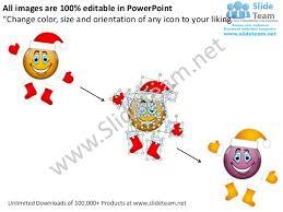 merry christmas powerpoint design layout flowchart slides