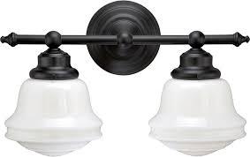 Vaxcel W Huntley Oil Rubbed Bronze Light Vanity Light VXL - Bathroom vanities lighting 2