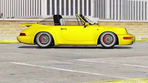 porsche 964 cabriolet gta v static porsche 964 cabrio and targa youtube