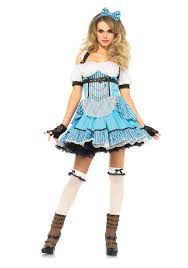 leg avenue 85409 rebel alice in wonerland costume