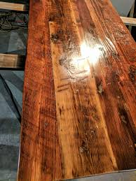 Salvaged Wood by Reclaimed Wood Tables Wood Touch Custom Restaurant Tables In