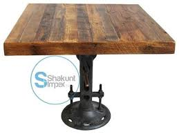 Industrial Bistro Table Vintage Industrial Furniture Exporter Manufacturer Distributor