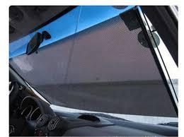 Auto Roller Blinds Car Window Roller Blind Scalable Mesh Sun Shade Car Sunshade Gauze