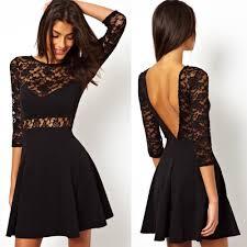 cheap black lace dress u2013 fashion dress trend 2017