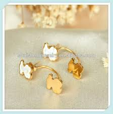 earrings saudi gold girl fashionable stud earrings saudi gold