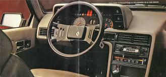 1982 renault fuego el fuego de renault archivo de autos