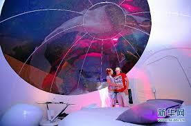 bulle chambre chambre d hôtes en forme de bulle à roubaix