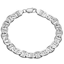 gold bracelet chain styles images Shop simon frank 14k white gold overlay 8 inch gucci style jpg