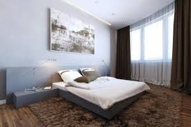 fascinating bed with built in side tables contemporary best