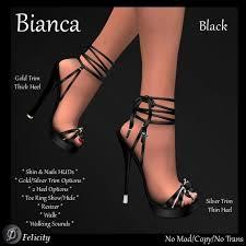 second life marketplace felicity bianca stilettos black high