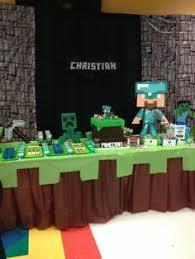 minecraft birthday party minecraft birthday party ideas backdrops squares and birthdays