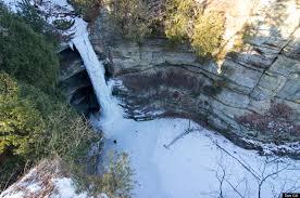 Exploring illinois 39 frozen waterfalls part 1 huffpost life