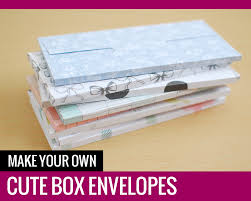 Make Your Own Envelope Make Your Own Cute Box Envelopes Paper And Landscapes