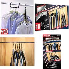 closet complete magic cascading hangers tv item set of 10 ebay
