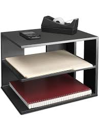 Corner Desk Shelves by Victor 1120 5 Midnight Black Corner Shelf Victor Technology Llc