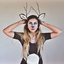 deer costume deer backyard makeup and costumes