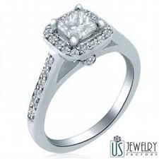 engagement rings nyc raised bridge 1 07 carat princess diamond engagement ring