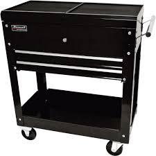 Tool Cabinet On Wheels by Homak Tool Cart With Sliding Top Panels U2014 Black Model Bk06022704