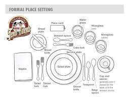 Formal Setting Of A Table Colorado Tents And Events