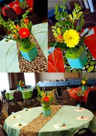 jungle safari baby shower naperville event florist