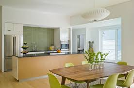 green backsplashes for modern kitchen design idea fpudining