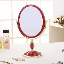 Cermin Dua Sisi harga terendah portabel putri kesombongan cermin dua sisi cermin