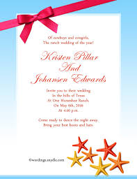unique wedding invitation wording sles destination wedding invitation wording sles from and groom