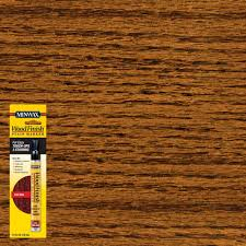 minwax 1 3 oz wood finish red oak stain marker 63483 the home depot wood finish red oak stain marker