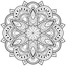 beautiful mandala coloring pages mandala coloring sheets to print flower mandala coloring pages in