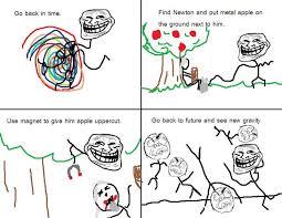 Troll Physics Meme - new gravity troll science
