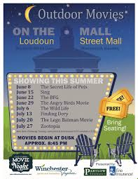 family movies on the mall old town winchester