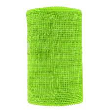 deco mesh ribbon apple green metallic deco mesh ribbon 5 1 2 hobby lobby 51397