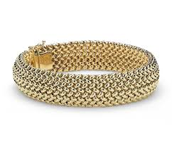 bracelet mesh images Mesh bracelet in 14k yellow gold blue nile