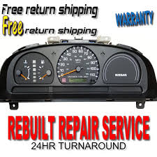 nissan frontier year 2000 used nissan frontier instrument clusters for sale