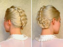 incorporate a braid in your wedding hairstyle updo bride sparkle