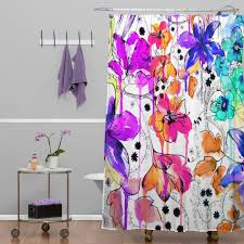 Deny Shower Curtains Beautiful Nature Inspired Shower Curtain Bathroom Nature Inspired