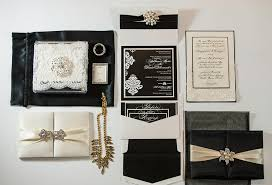 great gatsby wedding invitations great gatsby custom wedding invitations lilian designs studio