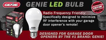 Normal 2 Car Garage Size by Genie Led Garage Door Opener Light Bulb 60 Watt 800 Lumens