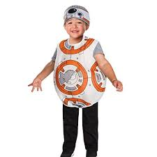 wars bb8 toddler boys costume by rubies size 3t 4t 3 4 years