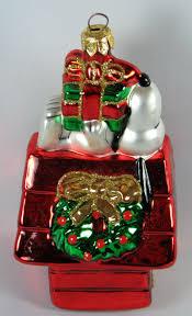 adler snoopy u0027s christmas doghouse polonaise christmas ornament