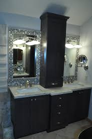 bathroom mirrors tile border home