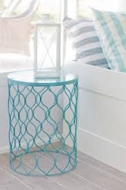 Metal Drum Accent Table Drum End Table Foter