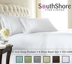 How To Fold A Fitted Bed Sheet Fitted Sheets For Pillow Top Mattress Amazon Com