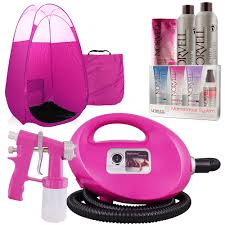 pink fascination spray tanning machine pink tent tanning