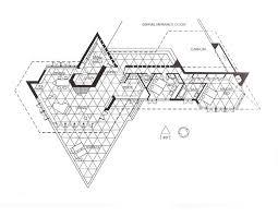 frank lloyd wright triangles architecture fl wright usonians etc
