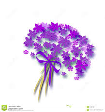 flower bow flower bouquet with bow stock illustration illustration of aroma