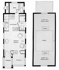 Tiny House Layout 28 Floor Plans For Small Houses Small Open Concept House
