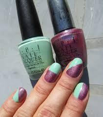 concrete and nail polish opi