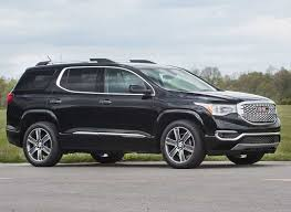 2012 Gmc Acadia Interior Redesigned 2017 Gmc Acadia Goes On A Diet Consumer Reports